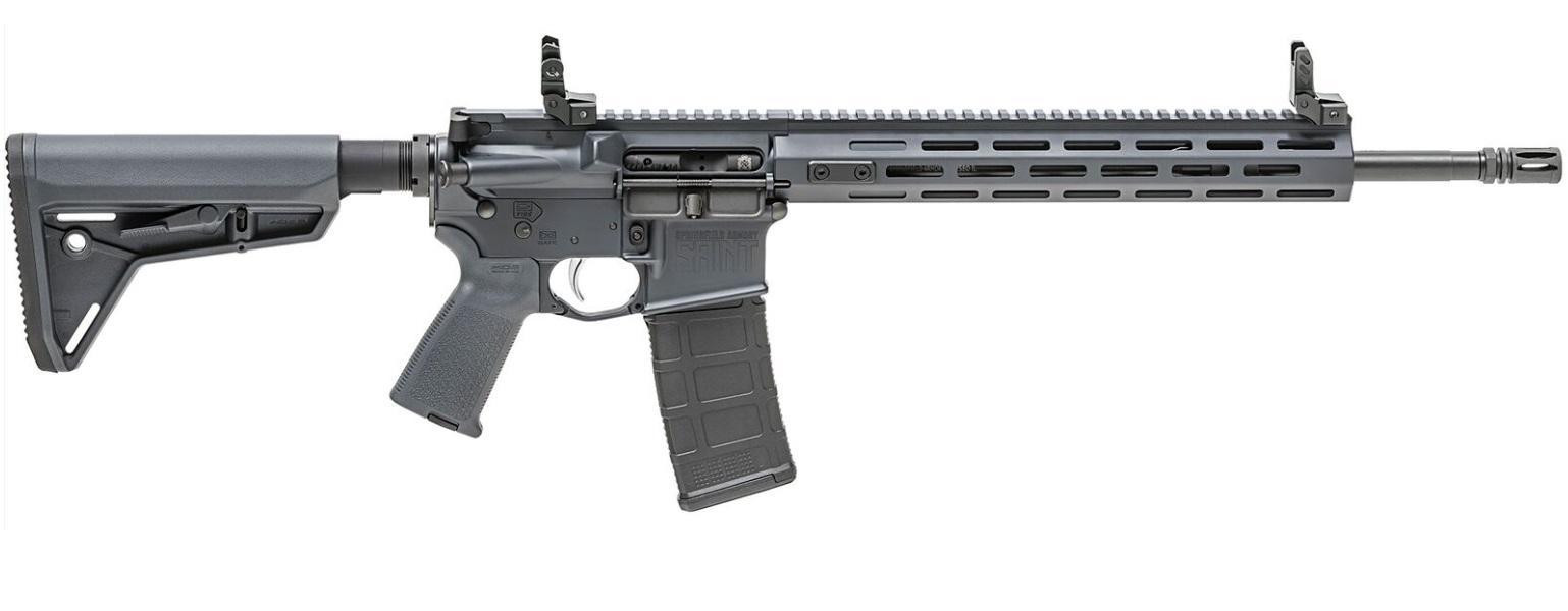Springfield Armory ST916556GRYF Saint   Semi-Automatic 223 Remington/5.56 NATO 16