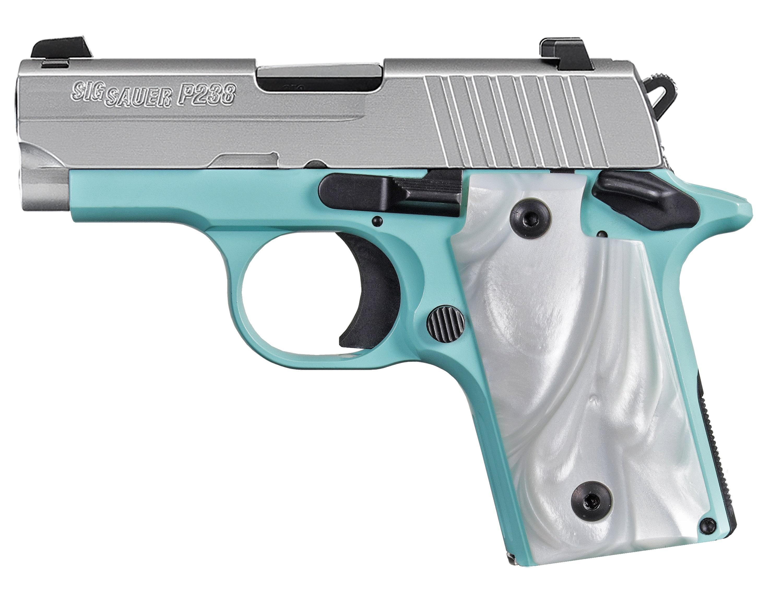 P238 380ACP SS/ROBINS EGG BLUE - 238-380-REB