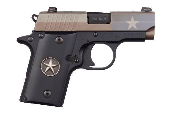 P238 TEXAS FLAG 380ACP FDE - 238-380-TXF