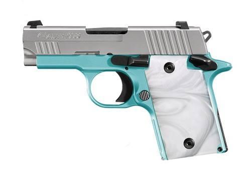 P938 9MM ROBINS EGG BLUE SLITE - 938-9-REB-AMBI