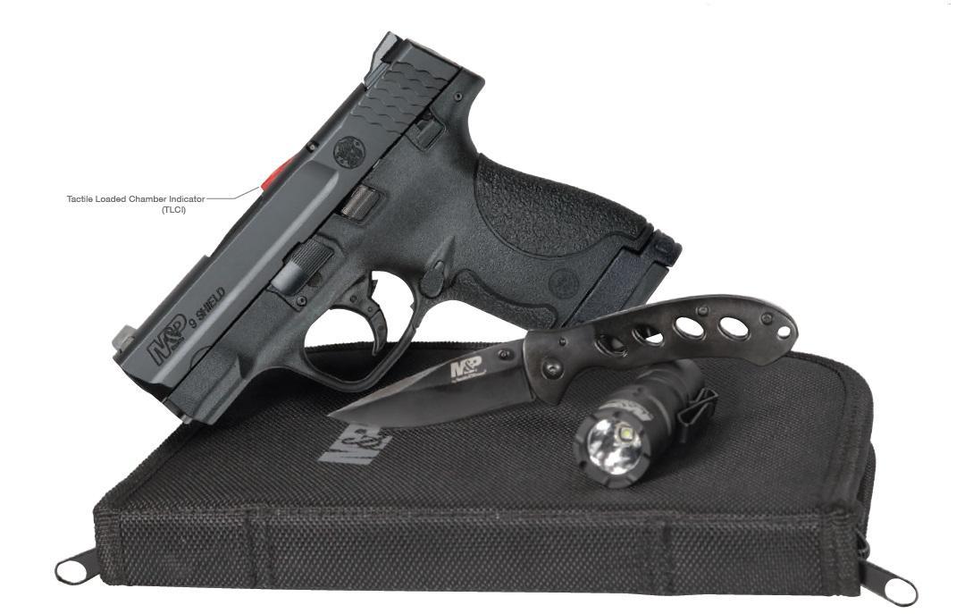 MP9 SHIELD EDC 9MM 8+1 FS CA - 12550  EVERYDAY CARRY KIT