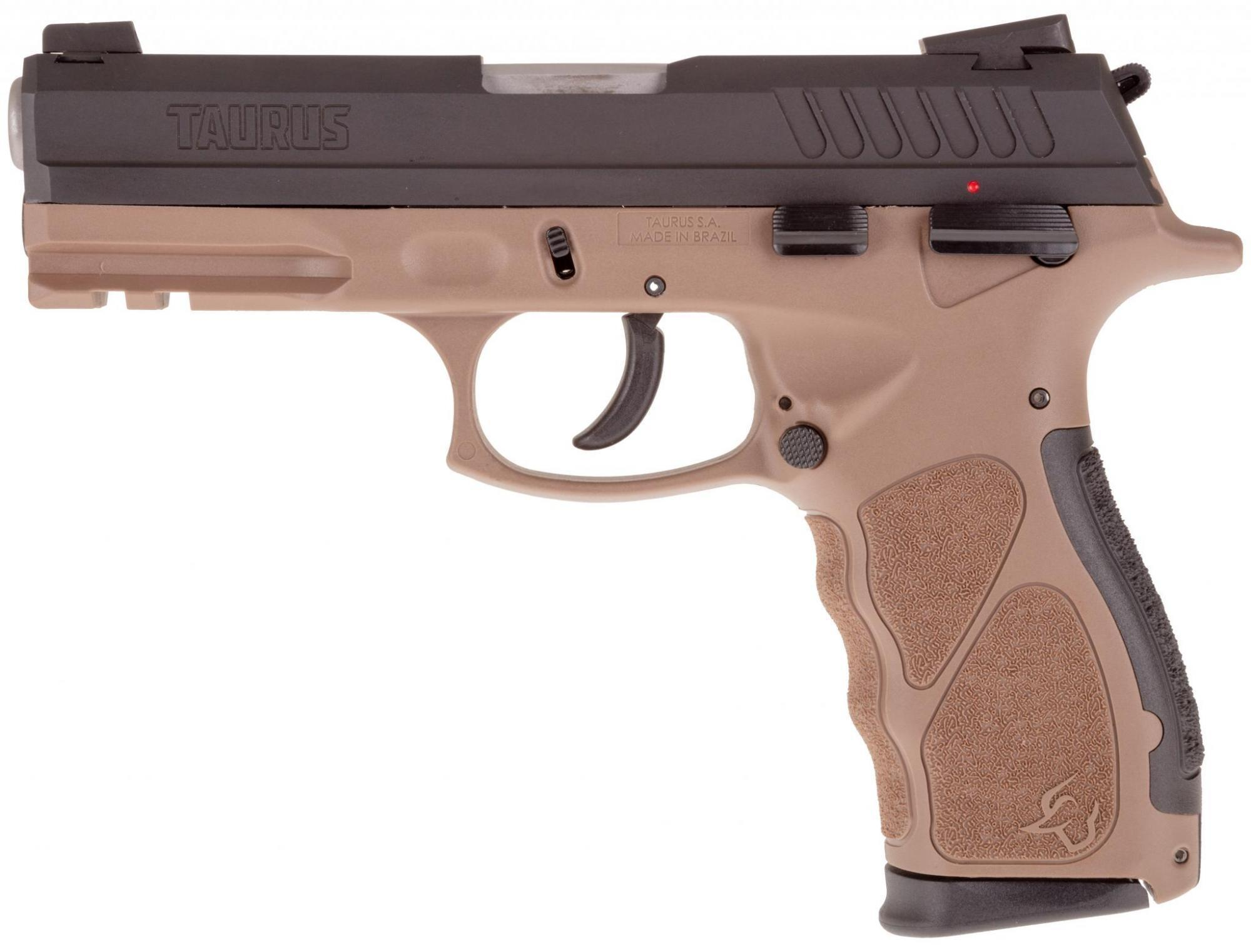 TH9 9MM BLK/BROWN 17+1 SAFETY - 1-TH9041B| ADJ SIGHTS | 2 MAGS