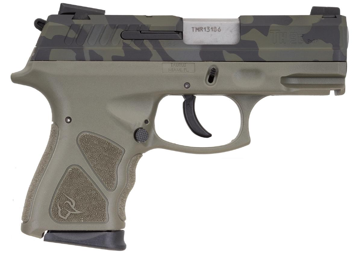 TH9 COMPACT 9MM CAMO/ODG 17+1 - 1-TH9C031O-LBC|SAFETY|3.5 BBL