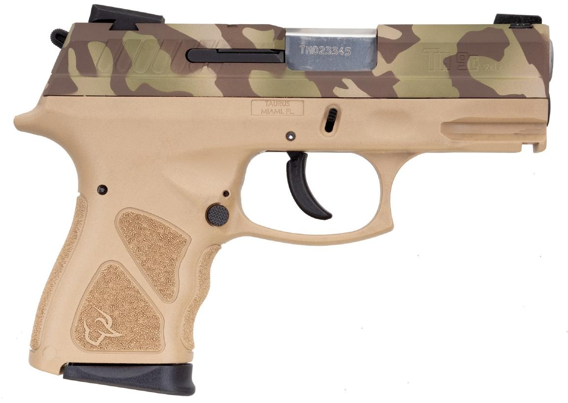TH9 COMPACT 9MM CAMO/FDE 17+1 - 1-TH9C031T-LFC|SAFETY|3.5 BBL