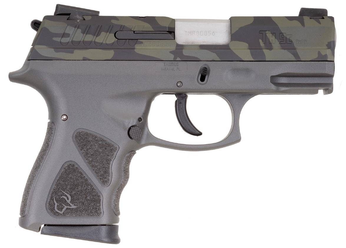 TH9 9MM CAMO/GRAY 4.3 17+1 MS - 1-TH9041G-LBC | MANUAL SAFETY