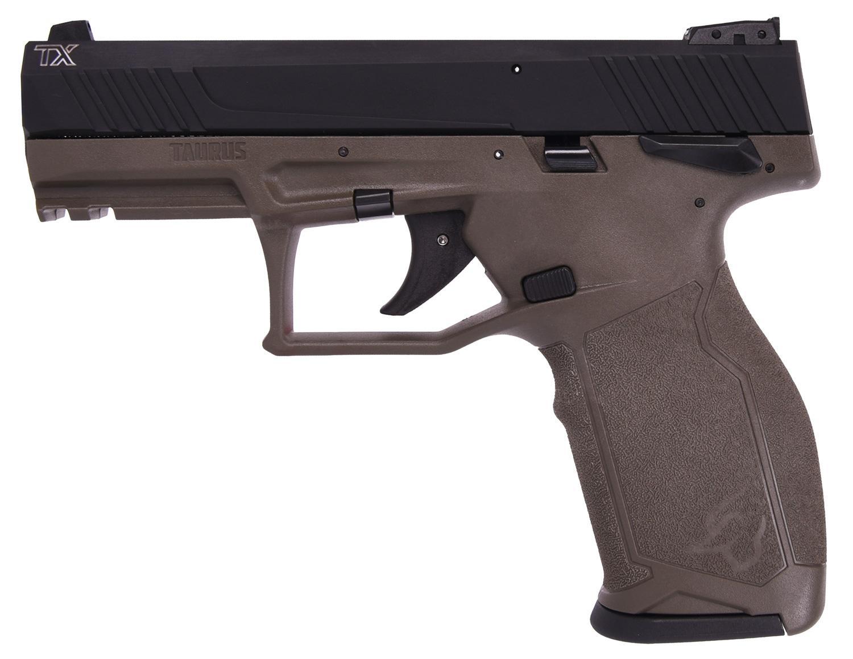 TX22 22LR BLK/ODG 4 16+1 SFTY - 1-TX22141O  MANUAL SAFETY