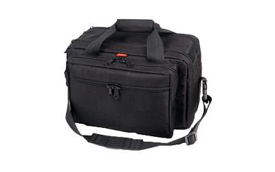 BULLDOG EXTRA LARGE RANGE BAG BLACK W/ PISTOL RUG