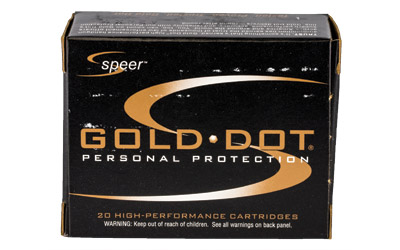 SPR GOLD DOT 32ACP 60GR HP 20/500
