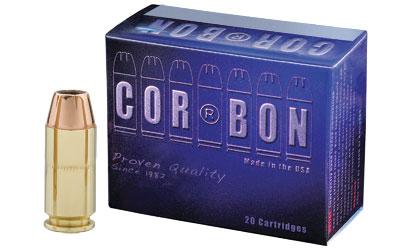 CORBON 40S&W 165GR JHP 20/500