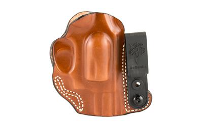 Desantis Gunhide 113TA02Z0 Flex-Tuk  Tan Leather IWB S&W J FRAME; M&P 340,360 2