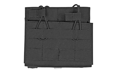 GGP DOUBLE 7.62 MAG POUCH BLK