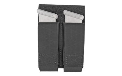 GGG DOUBLE PISTOL MAG POUCH BLK