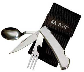 KBAR HOBO FORK/KNIFE/SPOON SS BX