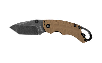 Kershaw Shuffle II Folder 2.375 in Blackwash Plain Tan GFN