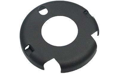LBE Unlimited ARHCR Handguard Cap  Round W/M4 Cuts AR-Platform Black Steel