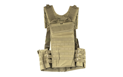 NCSTAR VISM AR CHEST RIG TAN