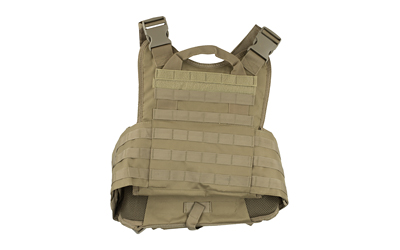 NCSTAR PLATE CARRIER MED-2XL TAN
