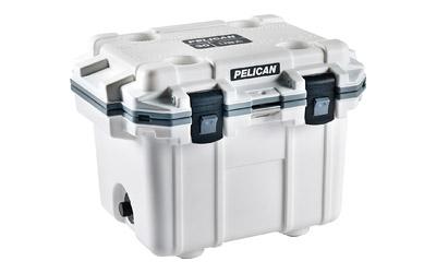 Pelican Elite Cooler  <br>  White/Gray 30 qt.