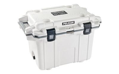 Pelican Elite Cooler  <br>  White/Gray 50 qt.