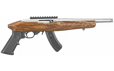 RUGER CHARGER .22LR 15-SHOT BROWN LAMINATED THREADED (TALO