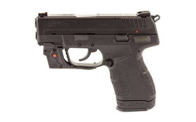 XD-E 9MM BLK 3.3 9+1 RED LSR - VIRIDIAN RED LASER | 2 MAGS