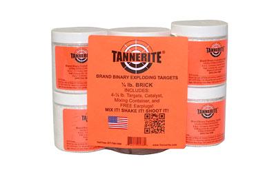 Tannerite Exploding Rifle Target  <br>  1/4 lb. 4 pk.