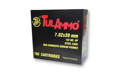 TULA 7.62X39 122GR HP 100/1000