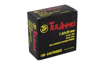 TULA 7.62X39 124GR FMJ 100/1000