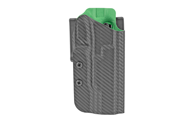 Uncle Mikes 54RNC15BGR Range/Competition  Black/Green OWB Fits Glock 17/22/34/35 Right Hand