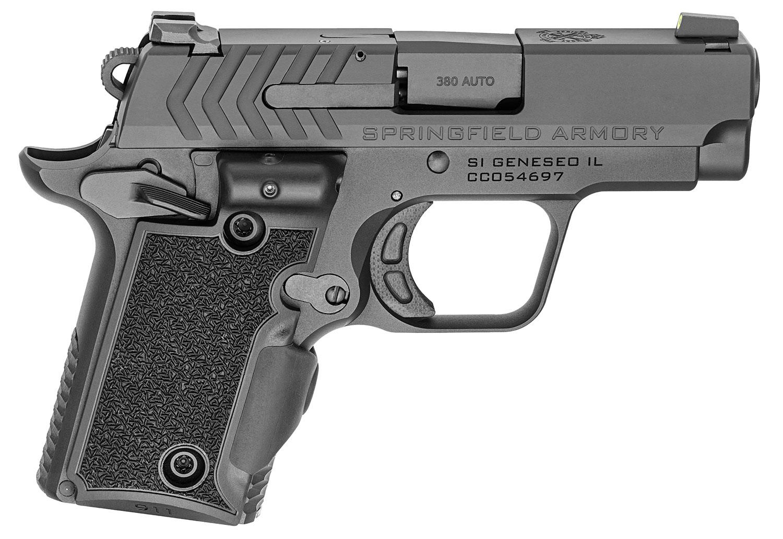 Springfield Armory PG9109VG 911  380 Automatic Colt Pistol (ACP) Single 2.7