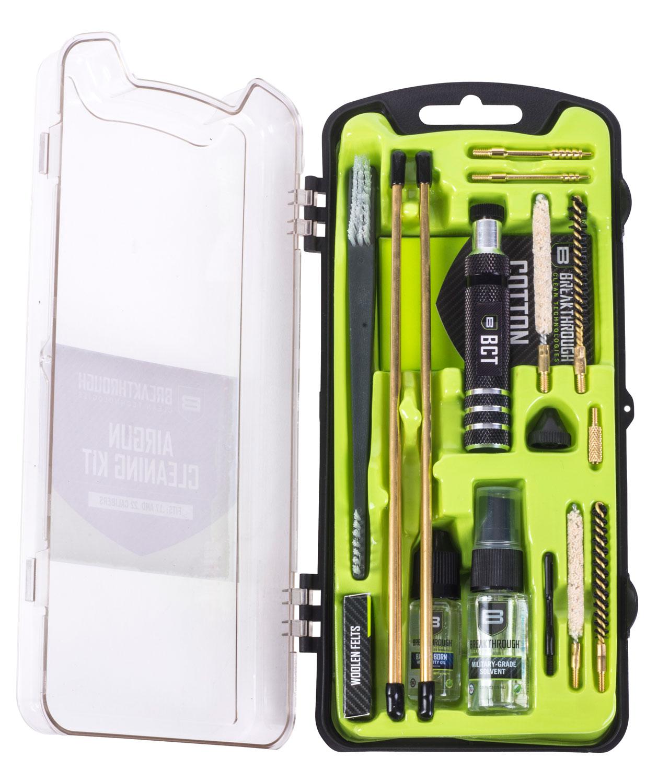 Breakthrough Vision Series Hard Case Cleaning Kit  <br>  Airgun/Rimfire 17 cal. / 22 cal.