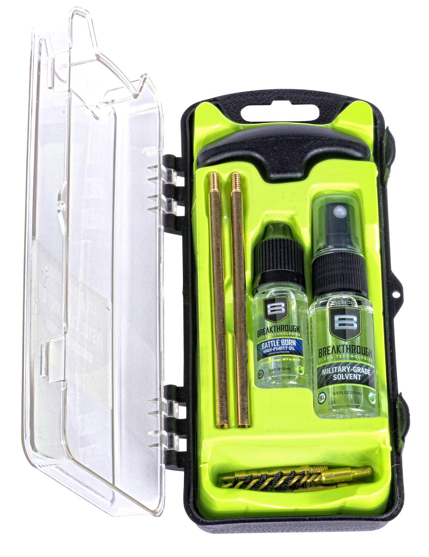 Breakthrough Vision Series Hard Case Cleaning Kit  <br>  Pistol 22 cal.