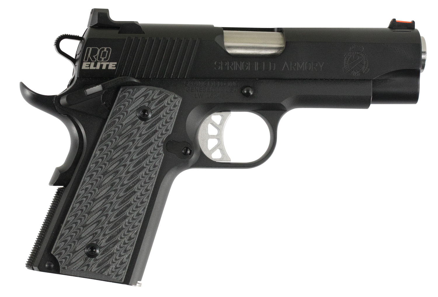 Springfield Armory PI9125E 1911 Range Officer Elite Compact  9mm Luger Single 4