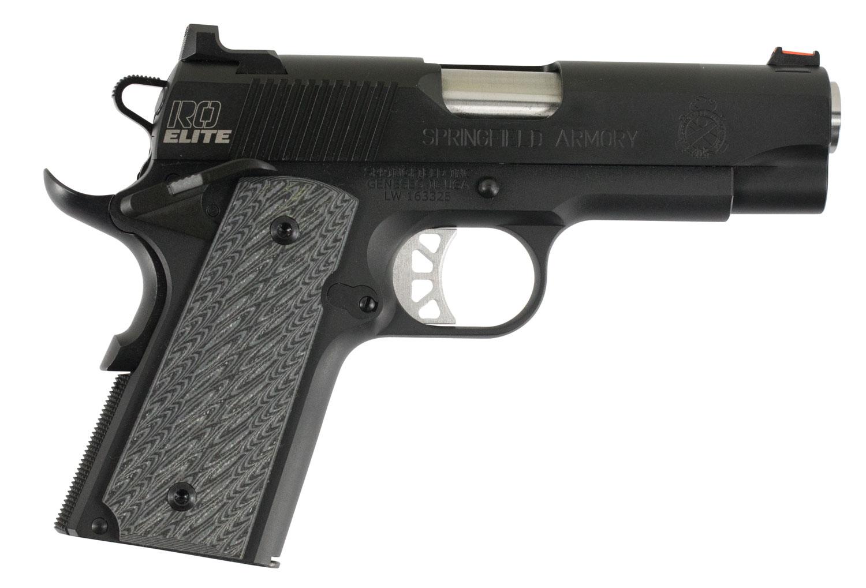 Springfield Armory PI9126E 1911 Range Officer Elite Compact  45 Automatic Colt Pistol (ACP) Single 4