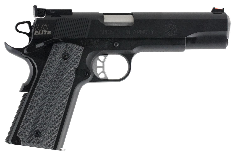 Springfield Armory PI9129E 1911 Range Officer Elite Target  9mm Luger Single 5