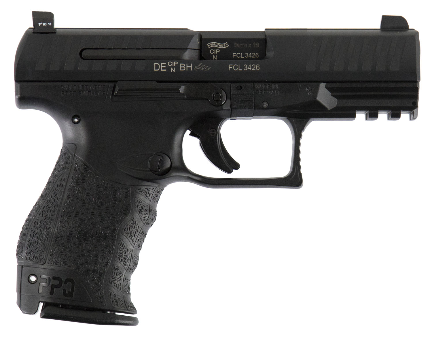 Walther Arms 2796066TNS PPQ M2 Double 9mm Luger 4
