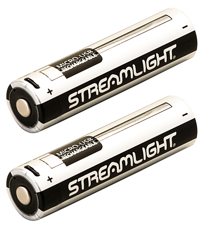 Streamlight 22102 18650 USB Battery Lithium Ion (Li-ion)  2Pk