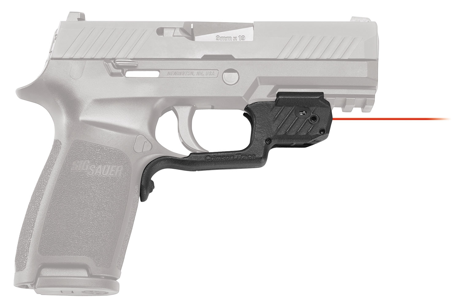 LASERGUARD SIG P320 RED - FRONT ACTIVATION