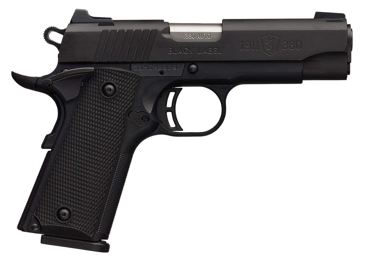 Browning 051941492 1911 Black Label Special Compact  380 Automatic Colt Pistol (ACP) Single 3.625