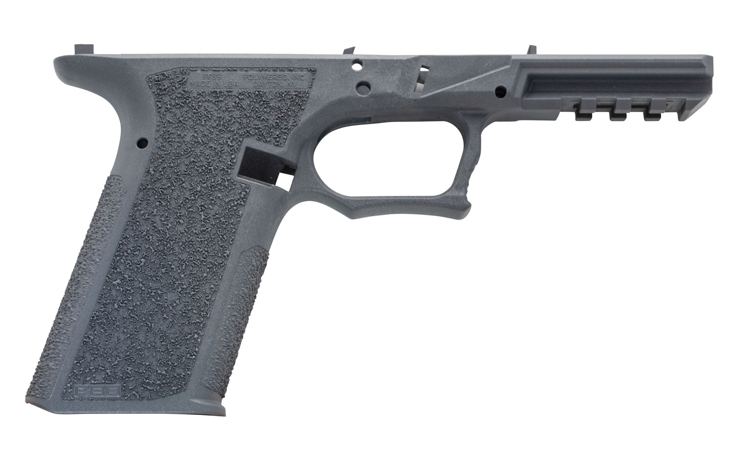 Polymer80 P80PFS9GRY G17/22 Gen3 Compatible 80% Pistol Frame Polymer Gray Serialized