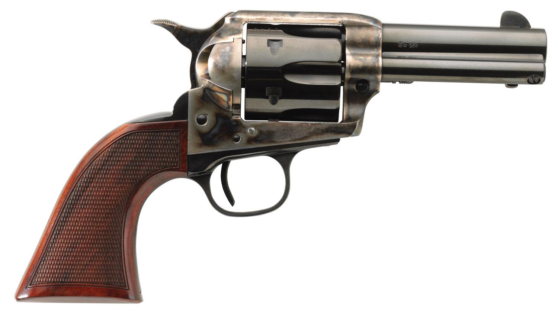 Taylors & Company 556217DE Short Stroke Runnin Iron Deluxe 45 Colt (LC) 6rd 3.50