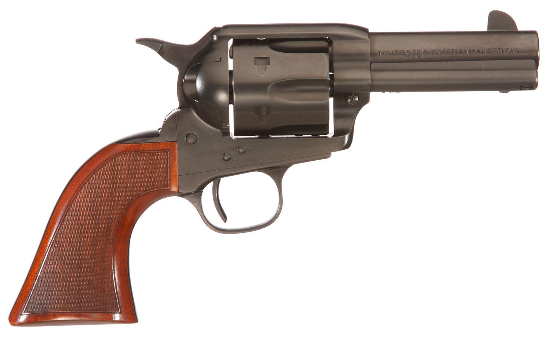Taylors & Company 654001DE Runnin Iron Black Rock 45 Colt (LC) 6rd 3.50