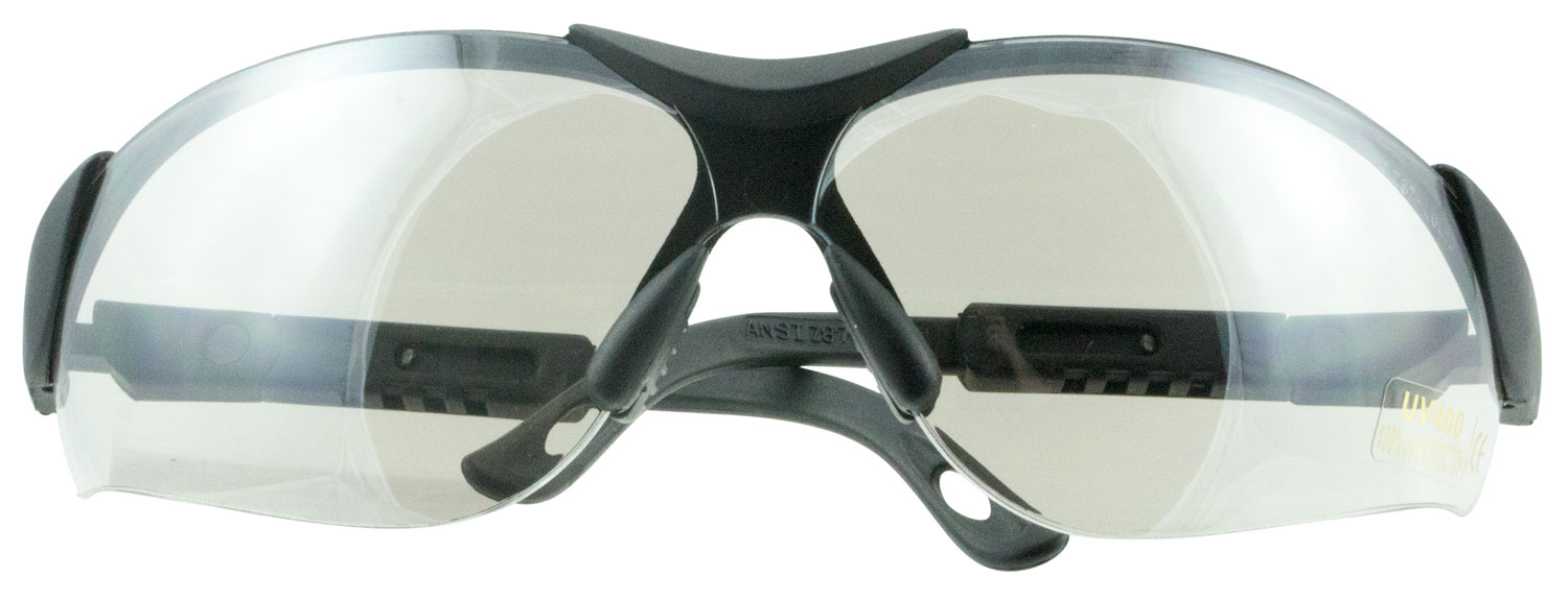 Walkers GWPXSGLICE Shooting Glasses Elite Shooting/Sporting Glasses Black Frame Polycarbonate Gray Lens