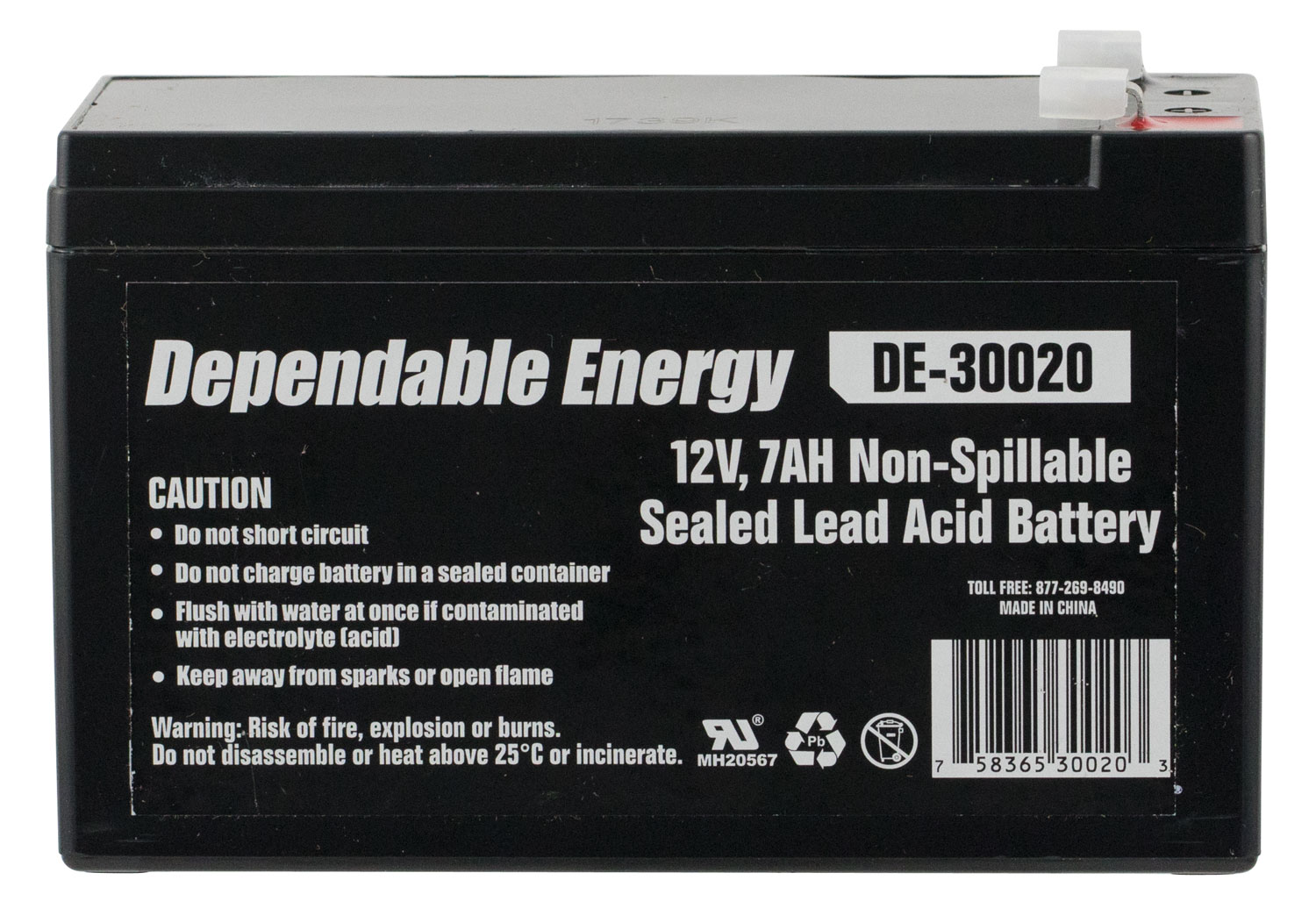 American Hunter Rechargeable Battery  <br>  12 Volt 7 Amp 8 pk.