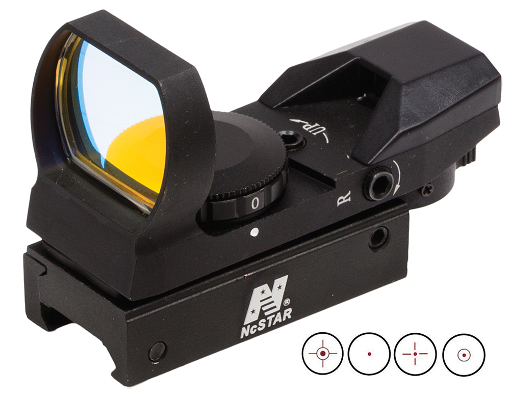 NCSTAR RED DOT REFLEX SIGHT WVR BLK