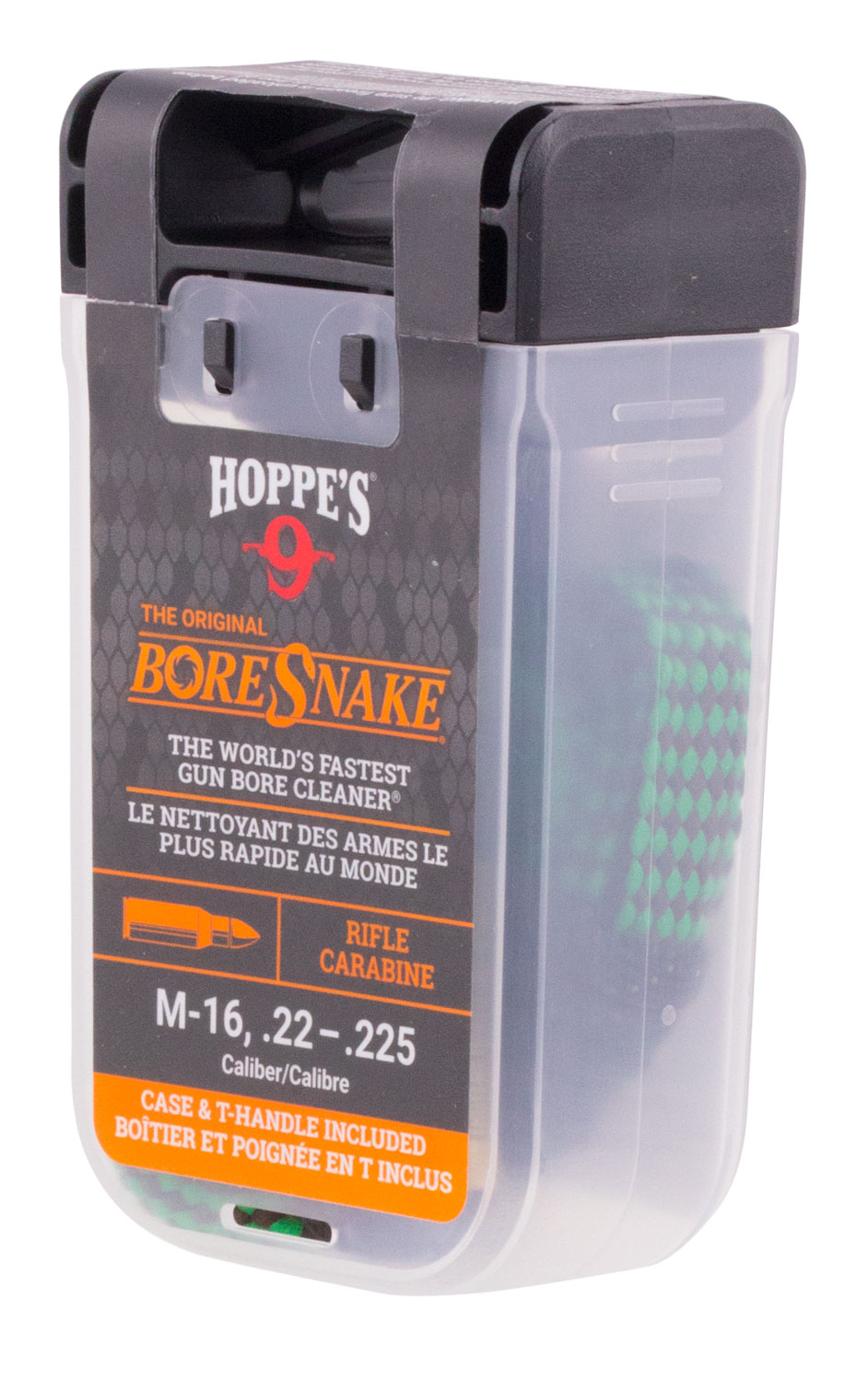 Hoppes 24011D BoreSnake Den Cleaner .22/.223/5.56mm Rifle