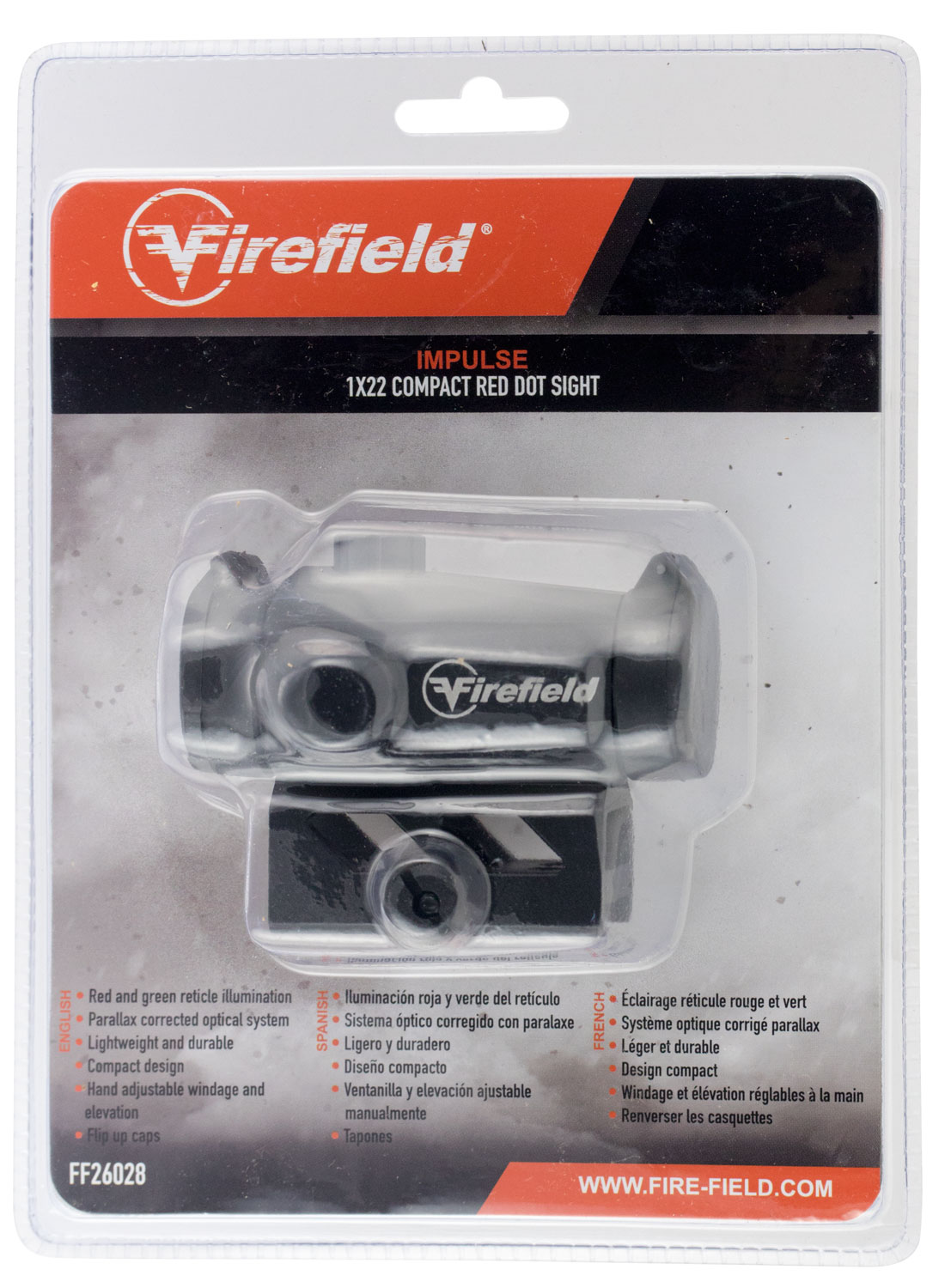 FIREFIELD IMPULSE COMPACT RED DOT