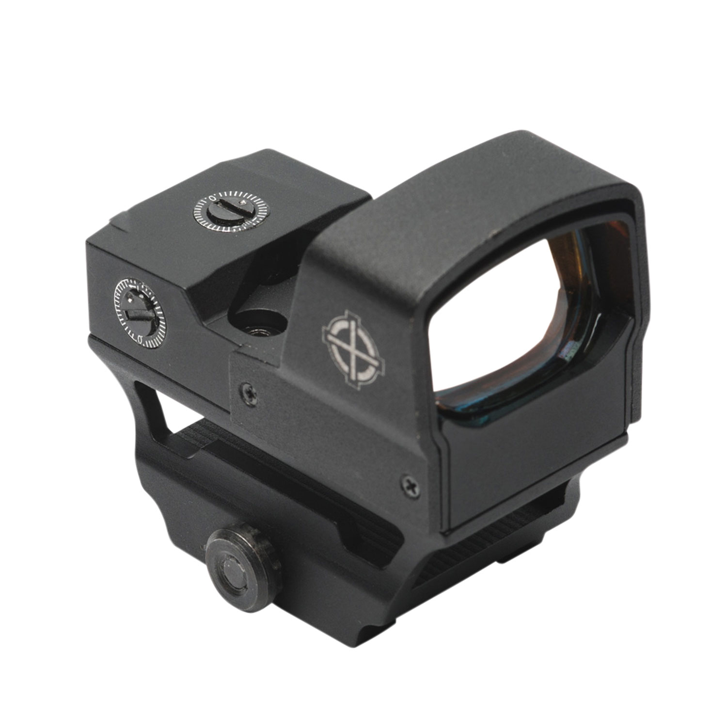 Sightmark SM26018 Core Shot A-Spec LQD 1x 28x18mm Obj 5 MOA Illuminated Red Dot Black CR1632 Lithium