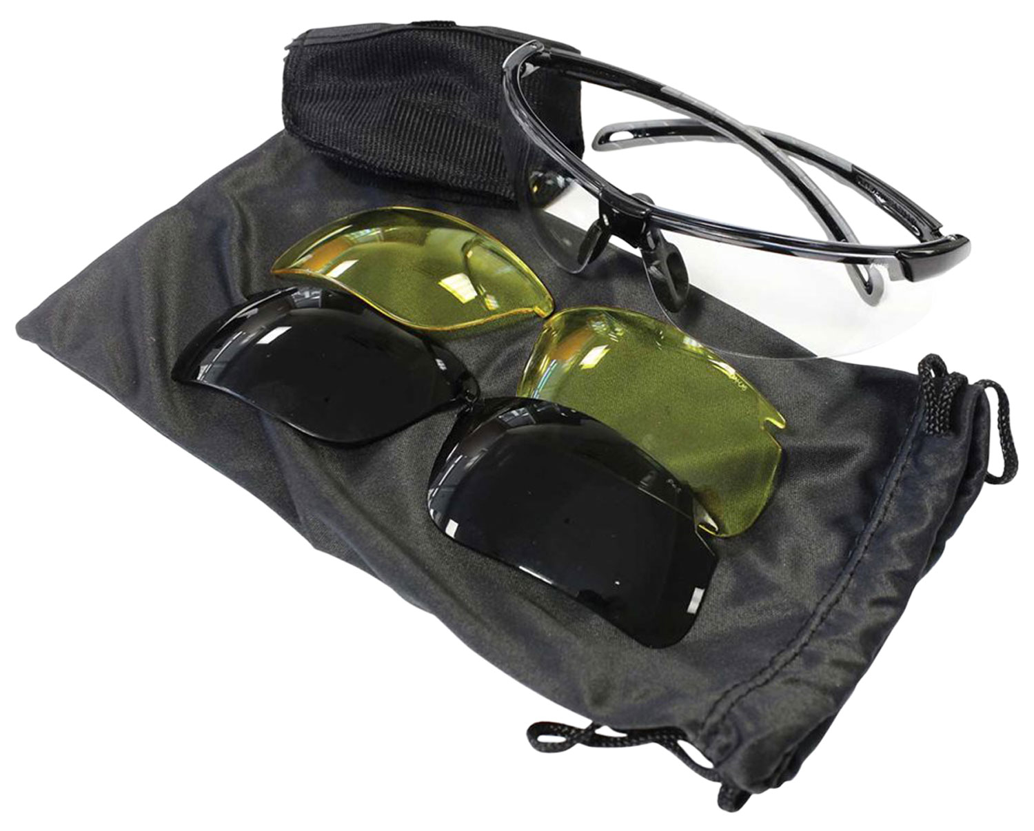 Birchwood Casey 43453 Convert Lens Kit  Shooting/Sporting Glasses Black