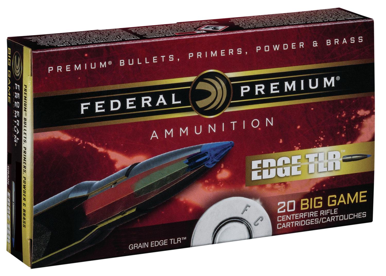 Federal P270ETLR1 Premium Edge TLR  270 Winchester 140 GR Terminal Long Range (TLR) 20 Bx/ 10 Cs